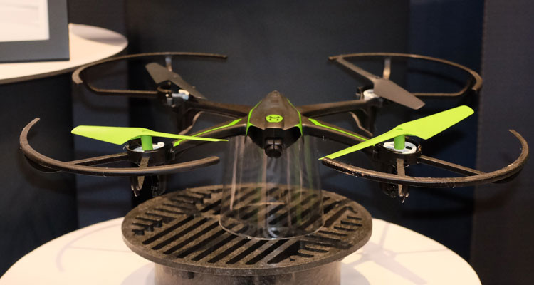Connected toys are a major trend as evidenced by the Sky Viper Streaming Drone