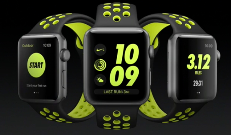 Apple Watch Nike+ was introduced at an event in San Francisco