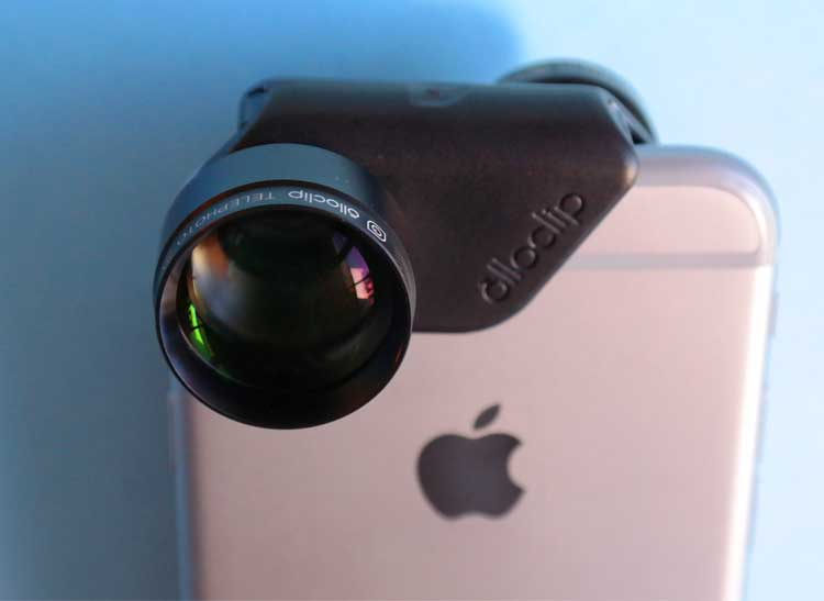 Add on telephoto smartphone lenses get you close to the action