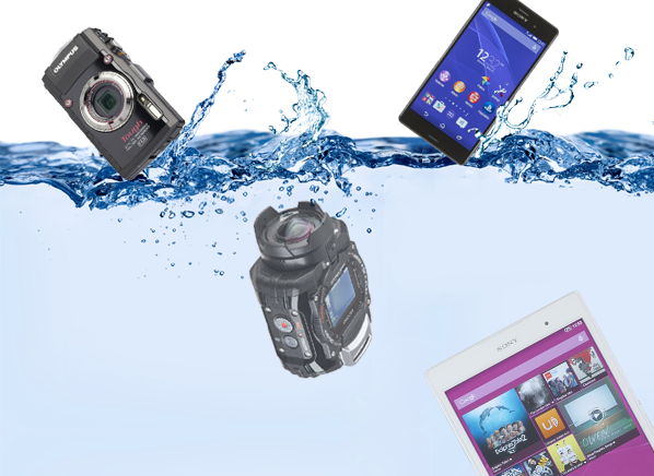 Waterproof And Rugged Gadgets That Are Tailor Made For Klutzes Daredevils