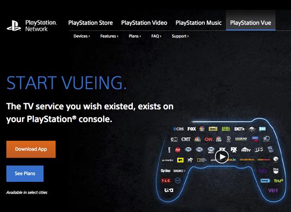 Sony Playstation Vue A La Carte Tv Service Consumer Reports