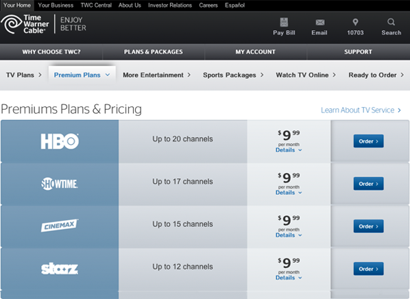 Time Warner Cable Deals For New Customers:  HBO Discounts - Consumer Reportsrh:consumerreports.org,Design