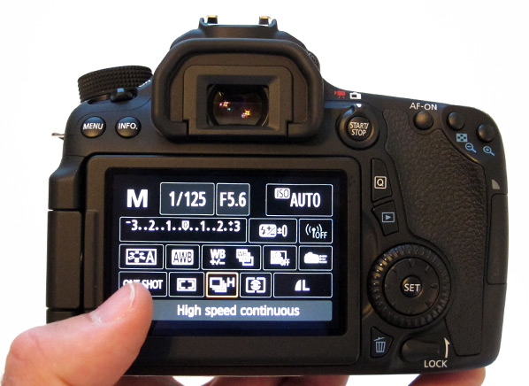 Canon Eos 70d Slr Best Camera Reviews Consumer Reports