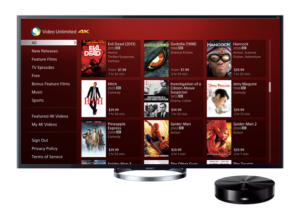 97a29e13dbde ... Ultra HD video download service. Video Unlimited 4K service lets you  rent or buy movies and shows