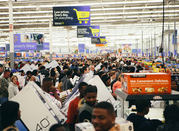 Walmart Black Friday 2013 deals for flat screen TVs and ...