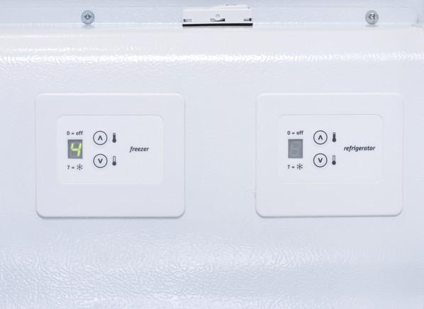 Frigidaire Freezer Refrigerator Convertible Freezer