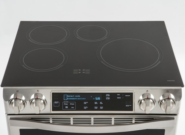 Monogram 30 induction cooktop