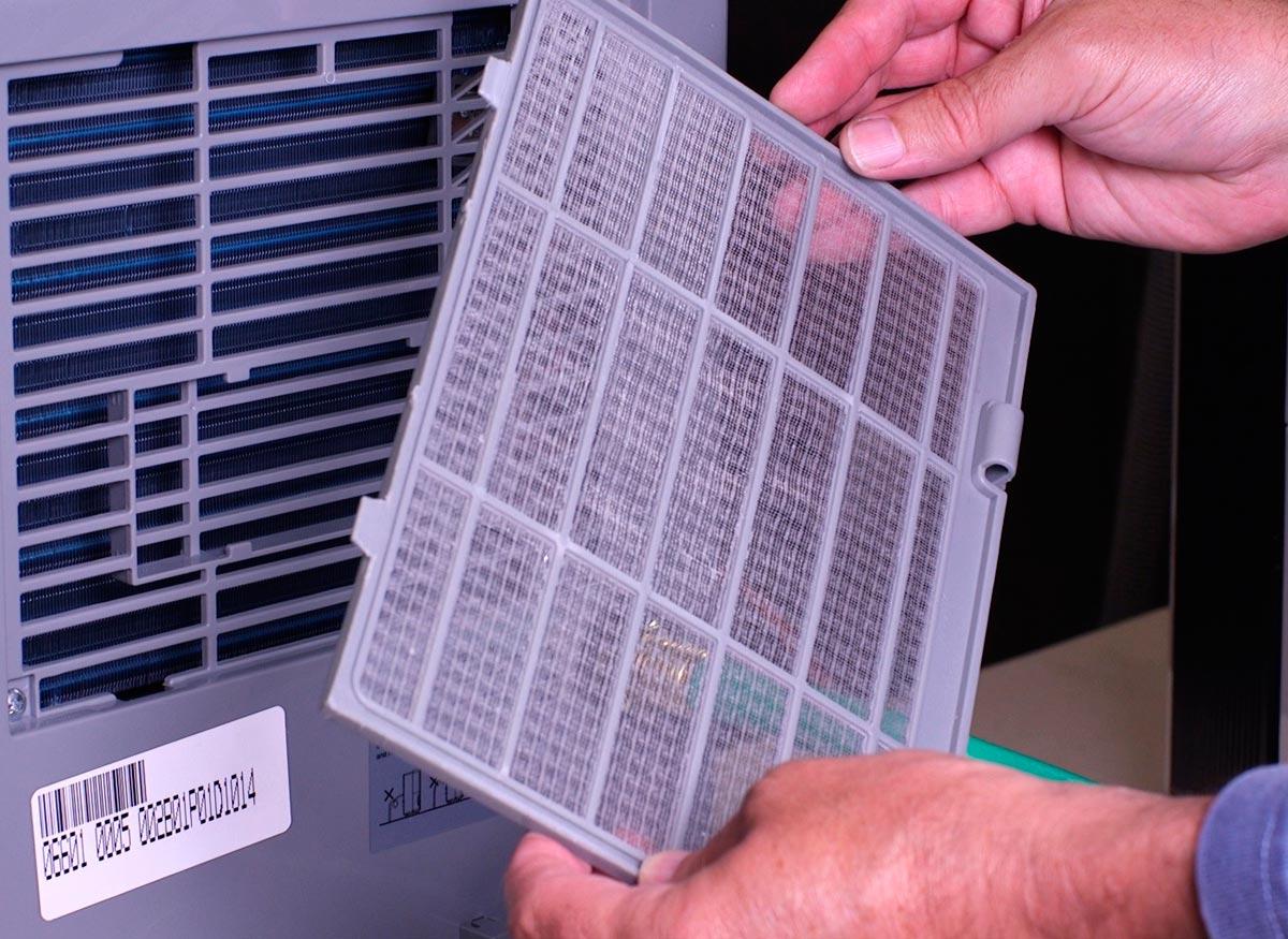 A dehumidifier filter.