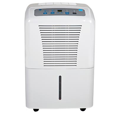 Photo of a medium capacity dehumidifier.