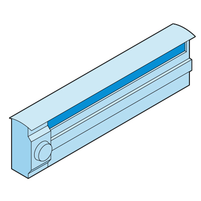 Illustration of a hot water radiator.