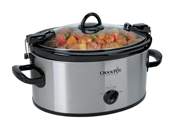Photo of a mechanical slow cooker.