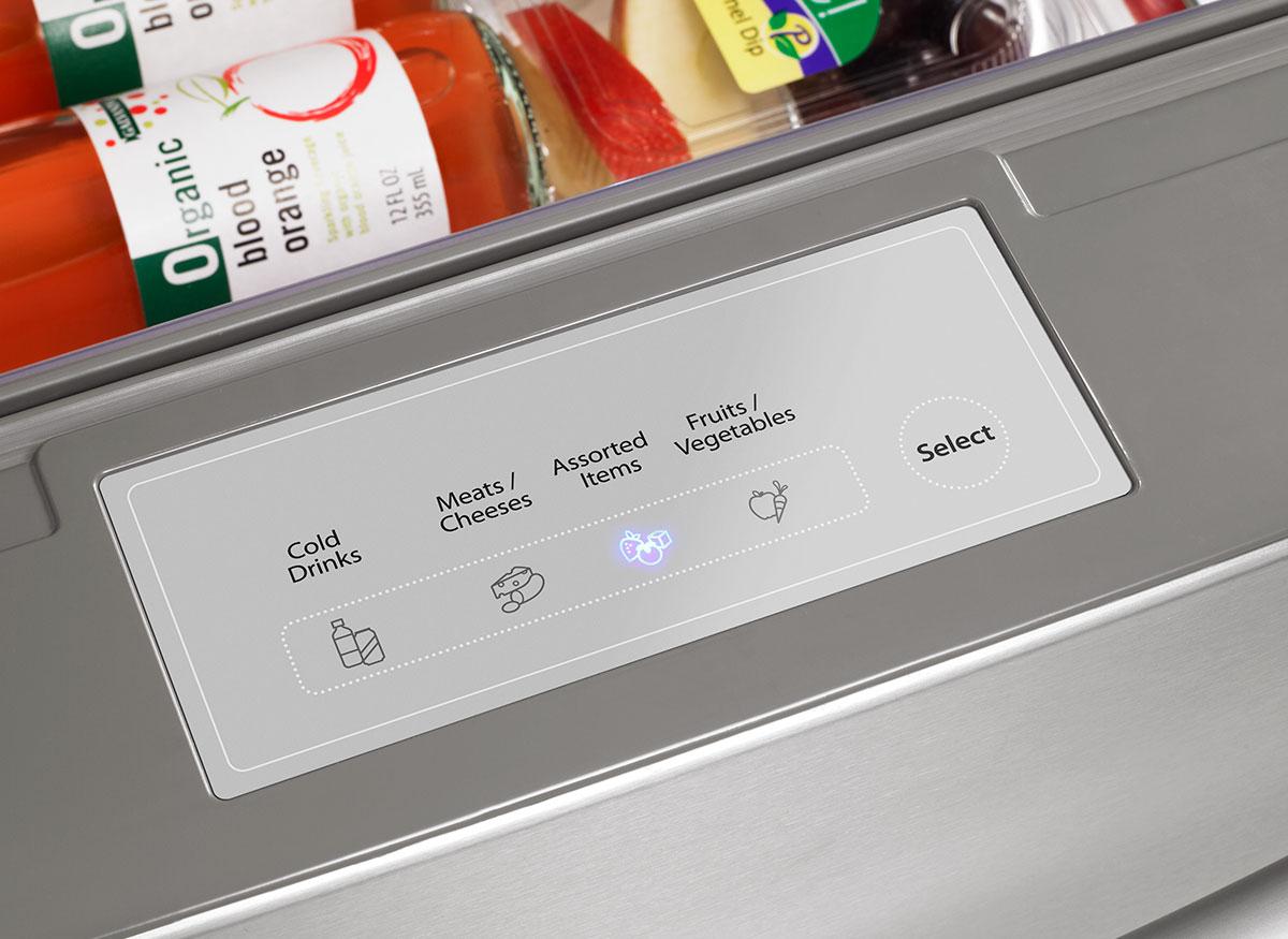 Picture of temperature controls.