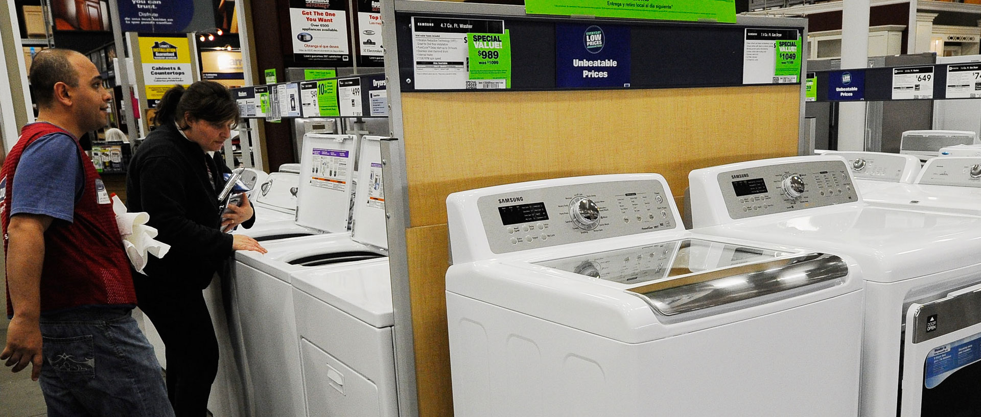 roper washing machine lowes