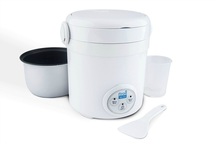 Aroma rice cooker for smaller kitchens..
