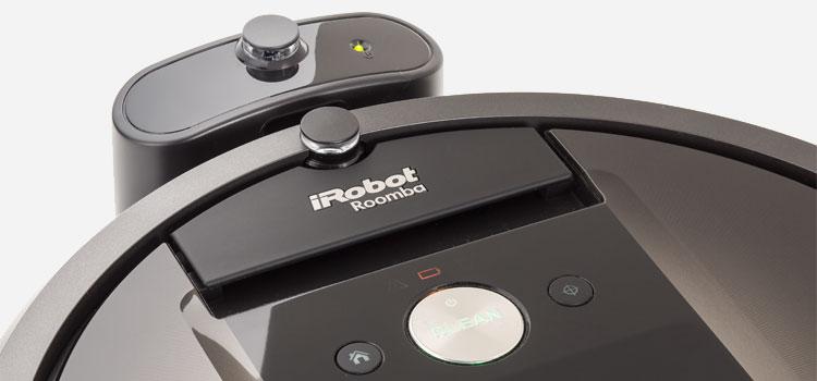 The iRobot Roomba 980.