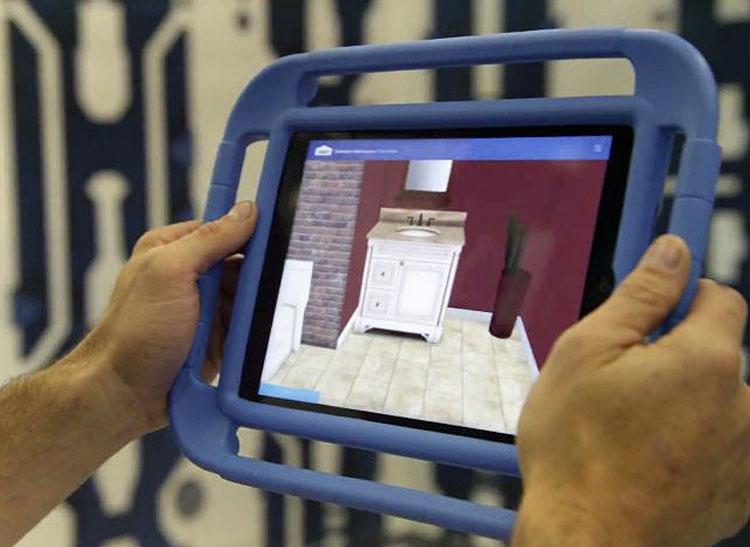 Remodeling trends: Lowe's Holoroom virtual app