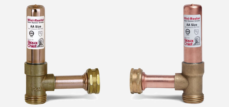 How to stop water hammer consumer reports for Water pipe noise reduction