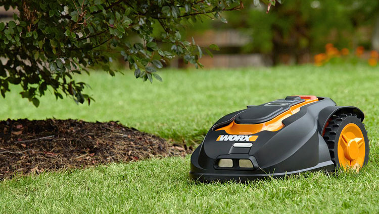 The Worx Landroid WG794 robotic mower.