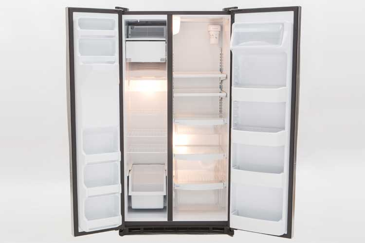 well priced ge side by side refrigerator consumer reports. Black Bedroom Furniture Sets. Home Design Ideas