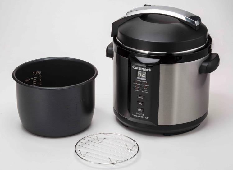 A Cuisinart pressure cooker