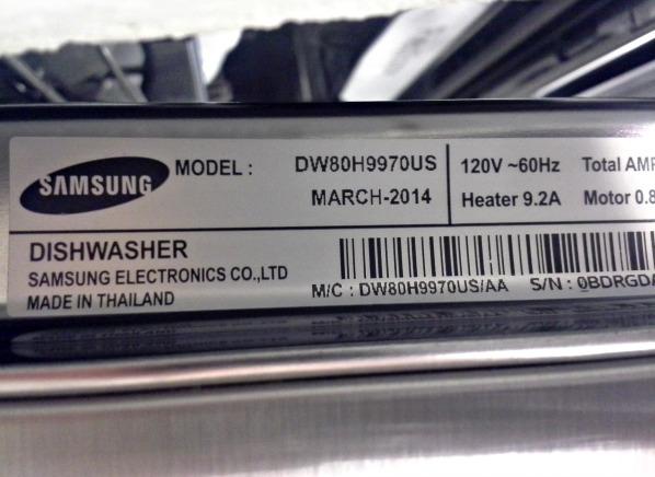 Samsung Waterwall Dishwasher Manual Fails Consumer Reports