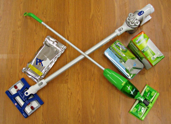 Sweep  Vac Starter Kit  Swiffer