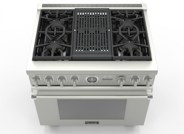 Try The Thermador Range For Indoor Hybrid Pro Style Grilling Consumer Reports