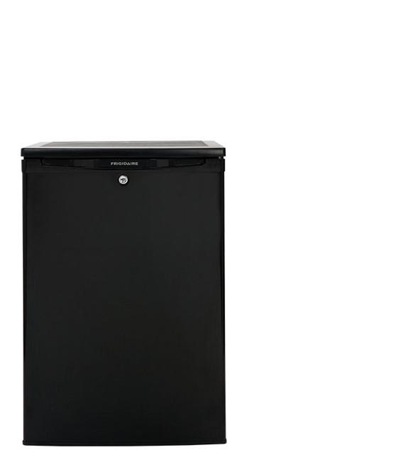 A mini fridge.