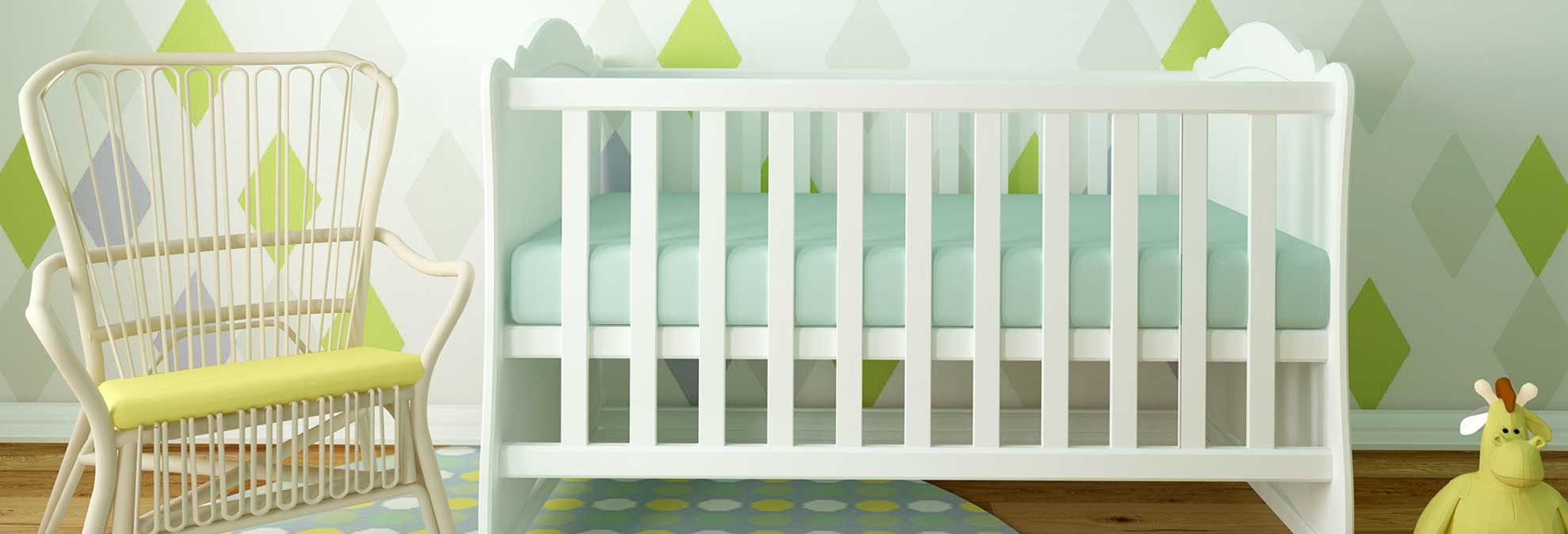 Choosing a good mattress for a double bed and a baby cot