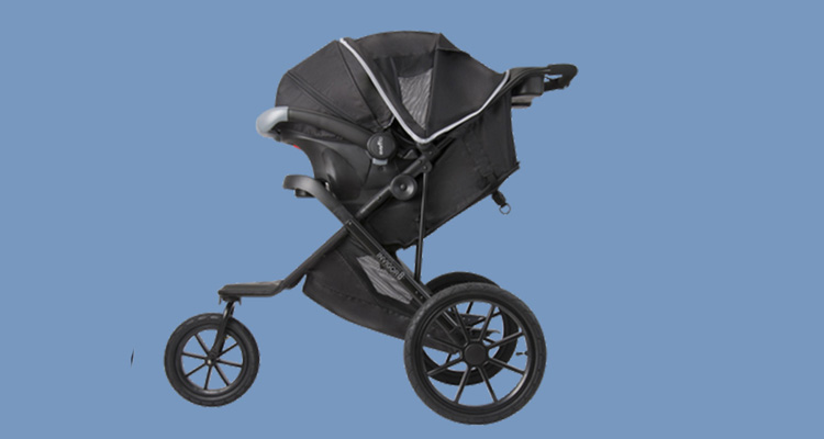 One of the Evenflo Invigor8 strollers for active parents