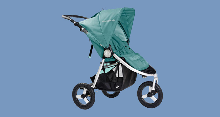 One of the Bumbleride Indie strollers for active parents