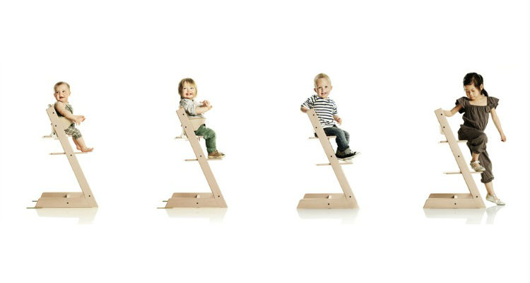 Stokke Tripp Trapp Is 4 High Chairs In One.