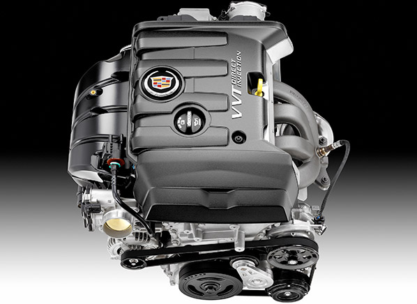 Cadillac Ats 2 5 Liter Four Cylinder Engine With Direct Injection Photo Gm
