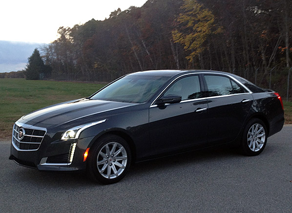 just in 2014 cadillac cts proves luxurious and engaging. Cars Review. Best American Auto & Cars Review
