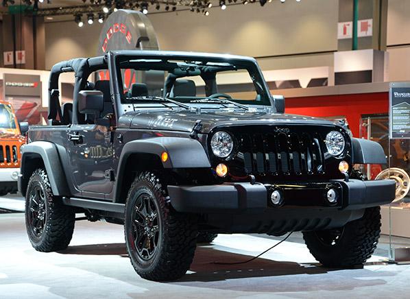 2014 jeep wrangler willys wheeler edition la auto show. Black Bedroom Furniture Sets. Home Design Ideas