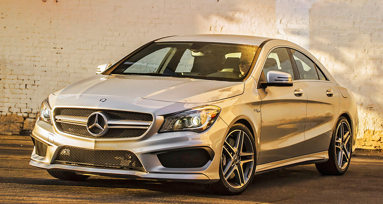 Luxury car Mercedes-Benz CLA