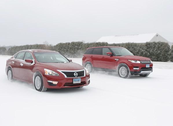 Sedan Vs Suv Winter Brake Test Consumer Reports News