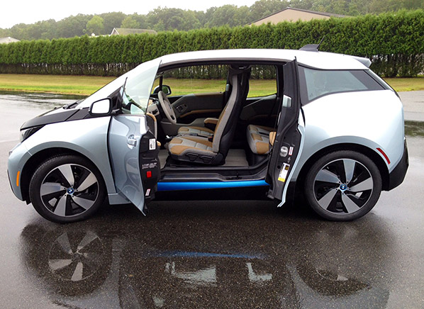 Plugged Into Our New Quick And Quirky 2015 Bmw I3 Electric Car