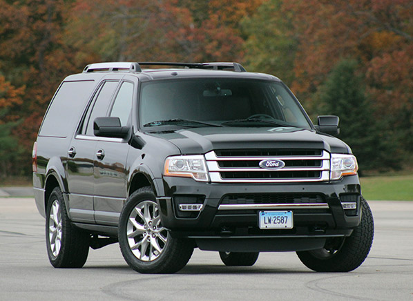 can the 2015 ford expedition el keep up with the chevrolet suburban consumer reports. Black Bedroom Furniture Sets. Home Design Ideas