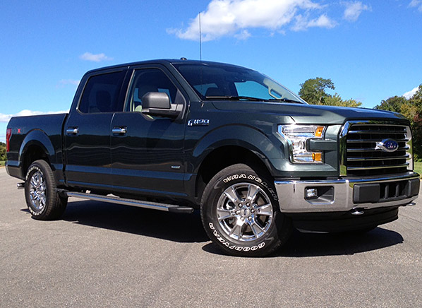 Redesigned 2015 Ford F 150 Proves Leaner And More Refined