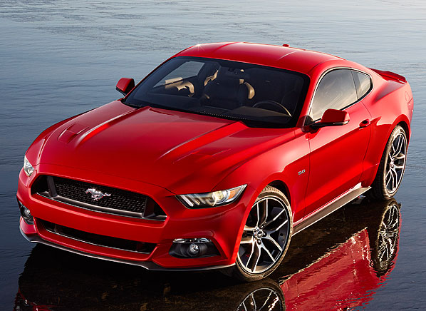 More Athletic Higher Tech And Turbocharged The New Mustang Celebrates 50 Years Of Muscle
