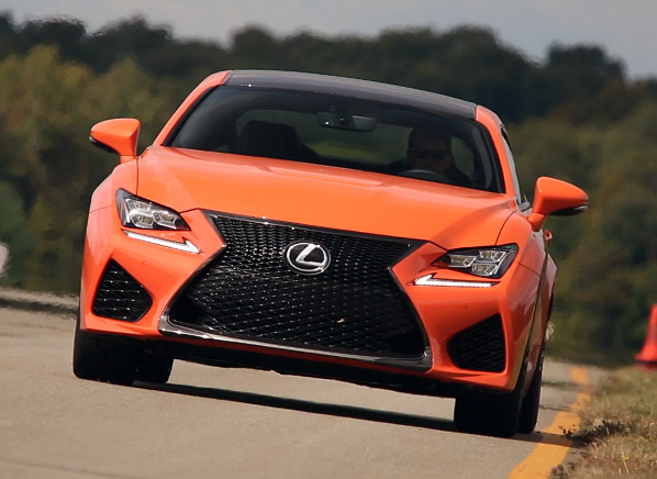 High Quality ... To Say That The RC F Is Not The 10/10ths Performance Machine That We  Know The 911 And Corvette To Be. What Lexus Has Brilliantly Done Is Create  A Car ...