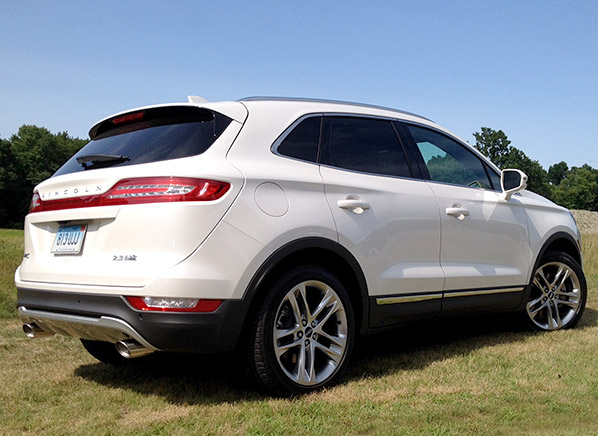 Well-Dressed Lincoln MKC SUV Faces Tough Competition - Consumer ...