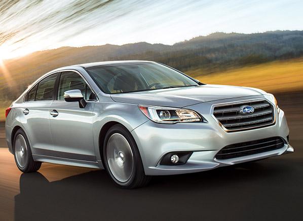2015 Subaru Legacy Redesigned Sedan Consumer Reports News