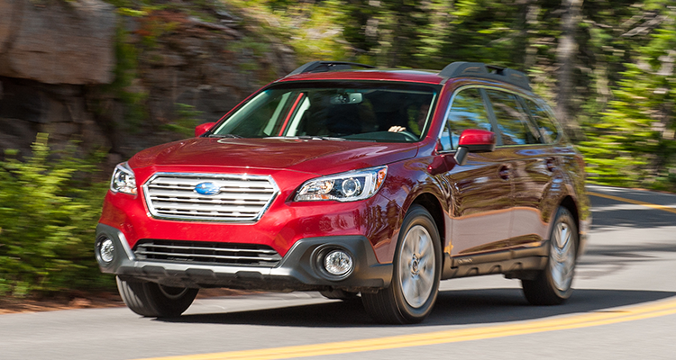 People's Pick 10 Most Popular Cars - Subaru Outback