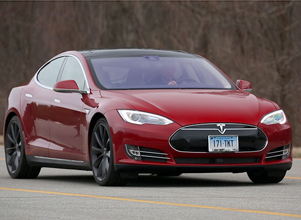 By Now You Ve Surely Heard Of The Insane Mode Acceleration In High Performance Tesla Model S P85d Electric Car Beyond That Go Fast On
