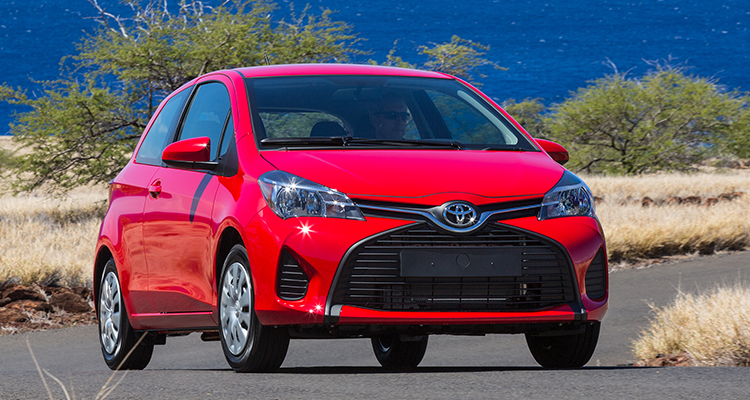 The Toyota Yaris is one of the worst cars of 2015