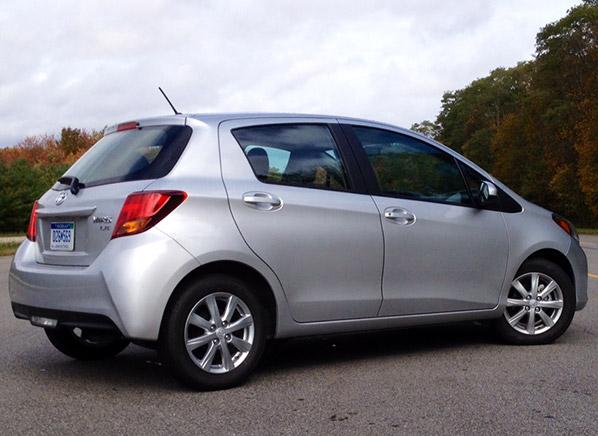 Freshened 2015 Toyota Yaris Still Playing Catch Up With Versa