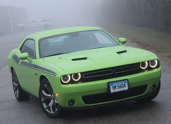 First drive Freshened 2015 Dodge Challenger is a Mean Green