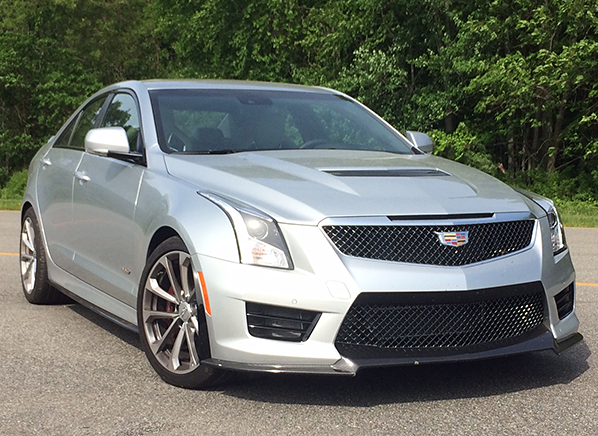 2016 Cadillac Ats V First Drive Review Consumer Reports